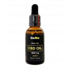 КБД масло CBD Oil 3000mg  GeNO  Lemon