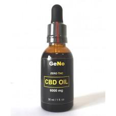 КБД масло CBD Oil 6000mg  GeNO